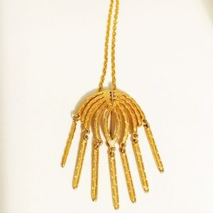 Gold Vintage Sarah Coventry pendant necklace